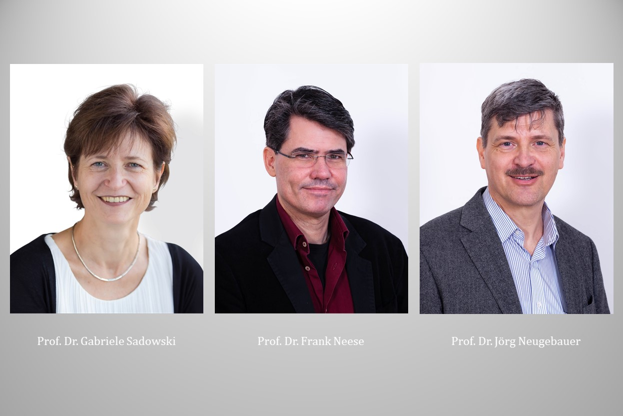 New scientists join RESOLV: Prof. Dr. Gabriele Sadowski, Prof. Dr. Frank Neese and Prof. Dr. Jörg Neugebauer